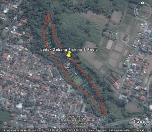 Ledok imagery from GoogleEarth